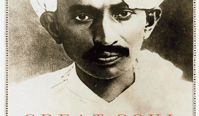 "Book cover image of Joseph Lelyveld's ""Great Soul: Mahatma Gandhi and His Struggle With India"" (Associated Press/Knopf)"