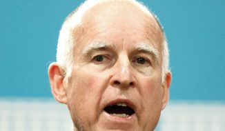 """""""There's more than one way to get to the goal, ... I'm going to find a way to get our budget balanced,"""" says Calif. Gov. Jerry Brown. (Bloomberg)"""