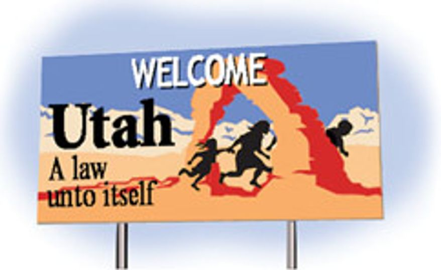 Illustration: Welcome to Utah