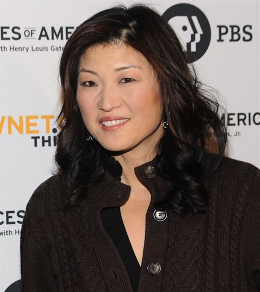 """FILE - In this Feb. 1, 2010 file photo, Juju Chang attends the premiere screening of """"Faces of America With Dr. Henry Louis Gates Jr.""""  at Jazz at Lincoln Center in New York. ABC announced Wednesday, March 30, 2011 that Chang, who has been the news reader on """"Good Morning America"""" for 15 months, is headed to """"Nightline."""" She'll be replaced on GMA by Josh Elliott, who's currently co-anchoring ESPN's """"SportsCenter."""" (AP Photo/Evan Agostini, File)"""
