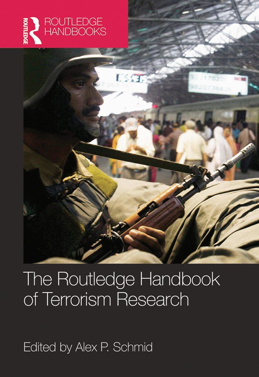 """""""The Routledge Handbook of Terrorism Research"""" provides findings from studies on terrorism and counterterrorism."""