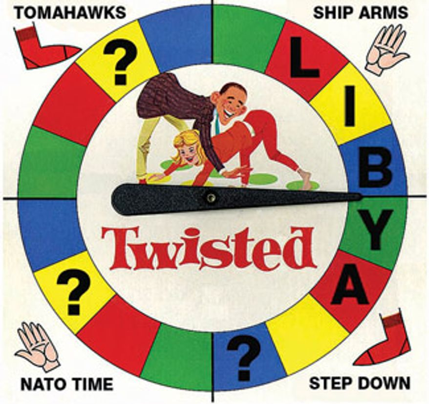 Illustration: Twisted by Alexander Hunter for The Washington Times