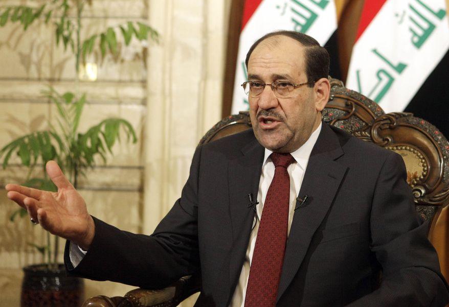 Iraqi Prime Minister Nouri al-Maliki (AP Photo/Karim Kadim)