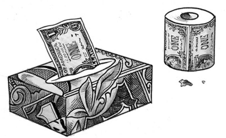 Illustration: Government money