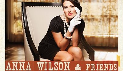 """In this CD cover image released by Transfer, Anna Wilson & Friends, """"Countrypolitan Duets,"""" is shown. (AP Photo/Transfer)"""