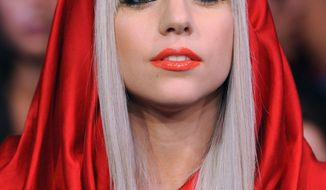 Lady Gaga leads MTV's newly inaugurated O Music Awards with three nominations. (Associated Press)