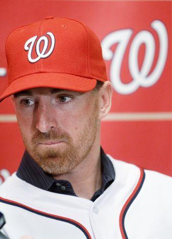 **file photo ** Nationals first baseman Adam LaRoche. (AP Photo/Jacquelyn Martin)