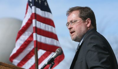 Grover G. Norquist, president of Americans for Tax Reform is scheduled to join with NAACP officials and business and education leaders at National Press Club to discuss an alternative way of dealing with nonviolent felons, rather than just incarcerating them. (The Idaho Statesman via Associated Press)