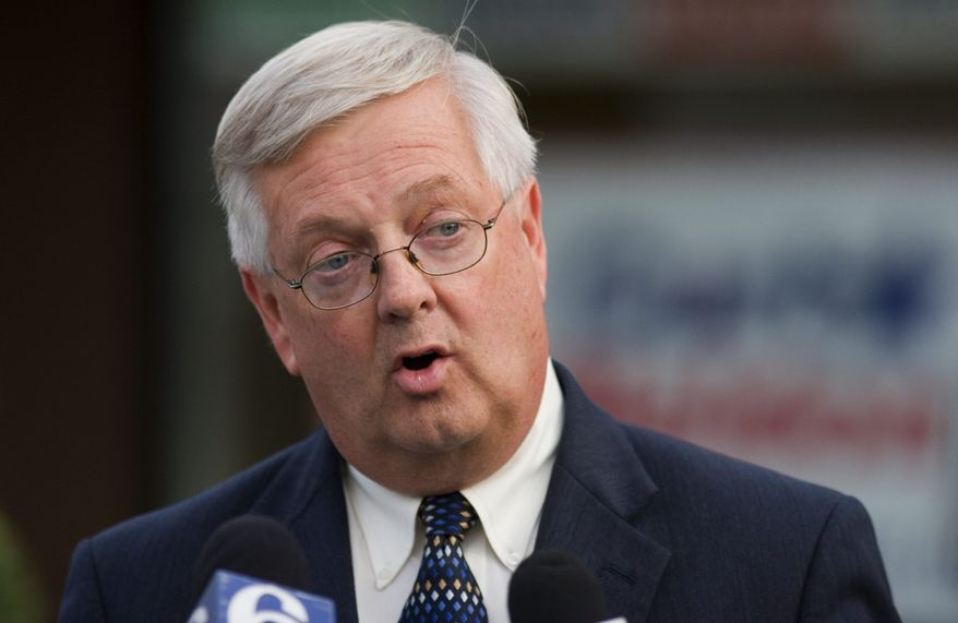 ** FILE ** Former Rep. Curt Weldon, Pennsylvania Republican (AP Photo/ Philadelphia Inquirer, Ed Hille, File)