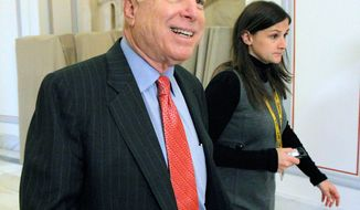 Sen. John McCain, Arizona Republican