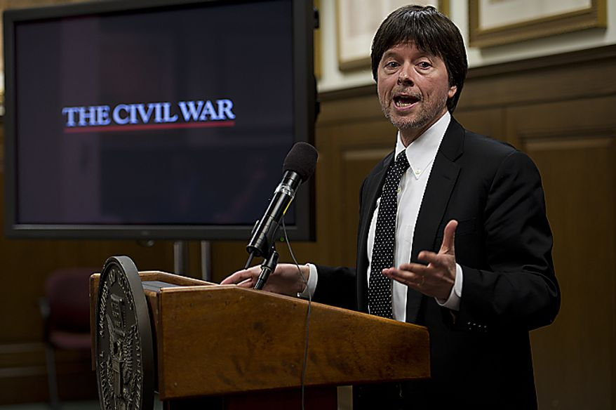 Documentary filmmaker Ken Burns told an audience at the National Archives in Washington on Wednesday, April 6, 2011, that he, too, found a family connection in the archives for the Civil War. It turns out his great-great-grandfather Abraham Burns was a member of the horse artillery. In celebration of the 150th anniversary of the start of the Civil War, the National Archives and Ancestry.com announced Wednesday that Civil War archives now will be available online outside the archives. (Barbara L. Salisbury/The Washington Times)