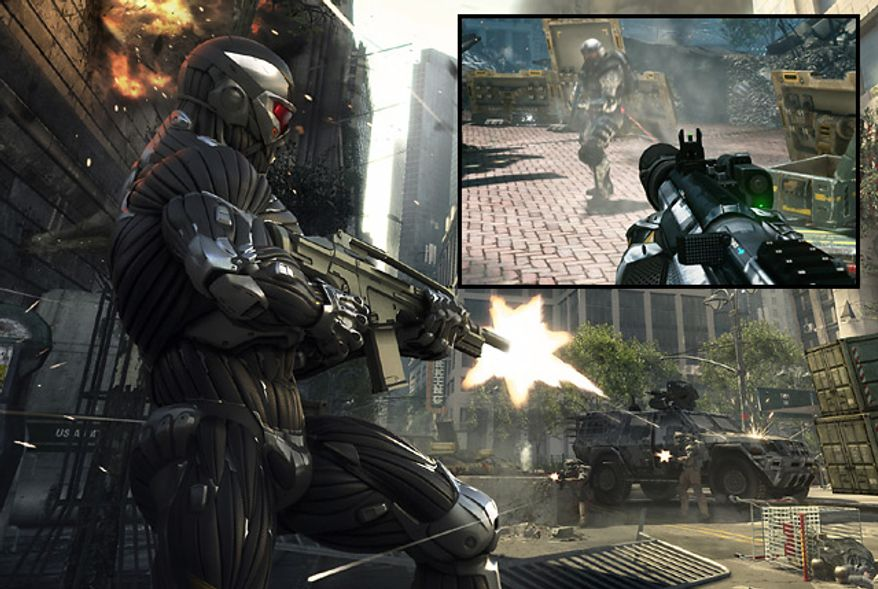 It's a fight for survival as Alcatraz in Electronic Arts' first person shooter Crysis 2: Limited Edition for the PlayStation 3