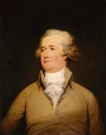 Alexander Hamilton, the nation's first Treasury secretary