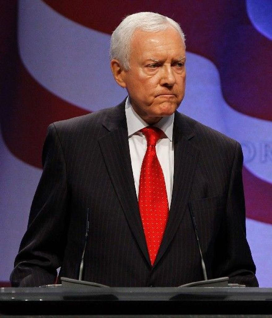 Sen. Orrin Hatch (Associated Press)
