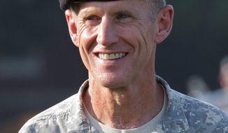 U.S. Army Gen. Stanley A. McChrystal