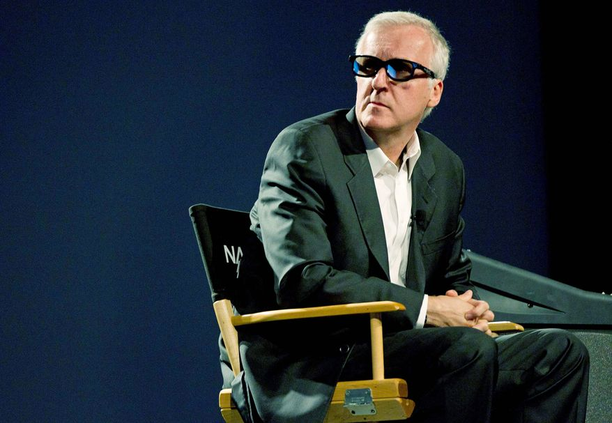 """""""Avatar"""" director James Cameron told a crowd at the National Association of Broadcasters Show in Las Vegas that 3-D television won't work without using directors and producers with 2-D experience. (Associated Press)"""
