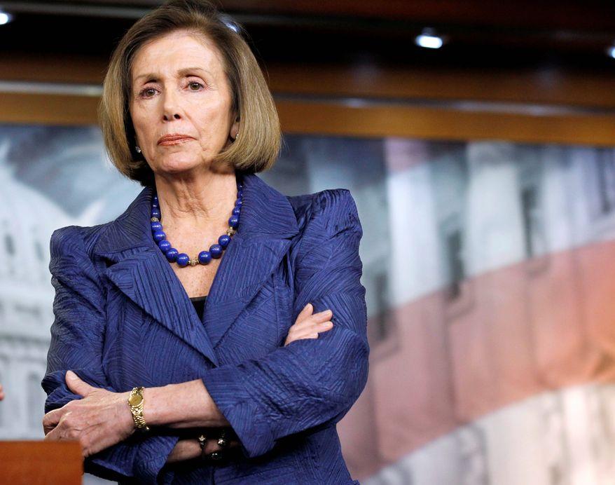 Speaker Nancy Pelosi is displeased that House Democrats were shut out of spending-deal talks.