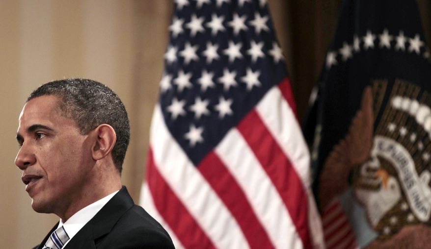 President Barack Obama is interviewed by The Associated Press, Friday, April 15, 2011, in Chicago. (AP Photo/Pablo Martinez Monsivais)