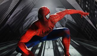 "** FILE ** ""Spider-Man: Turn Off the Dark,"" the Broadway musical. (Associated Press)"