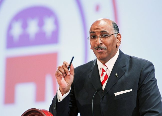Former Republican National Committee chief Michael S. Steele (Associated Press) **FILE**