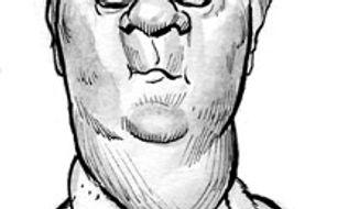 Illustration: Barney Frank by Alexander Hunter for The Washington Times