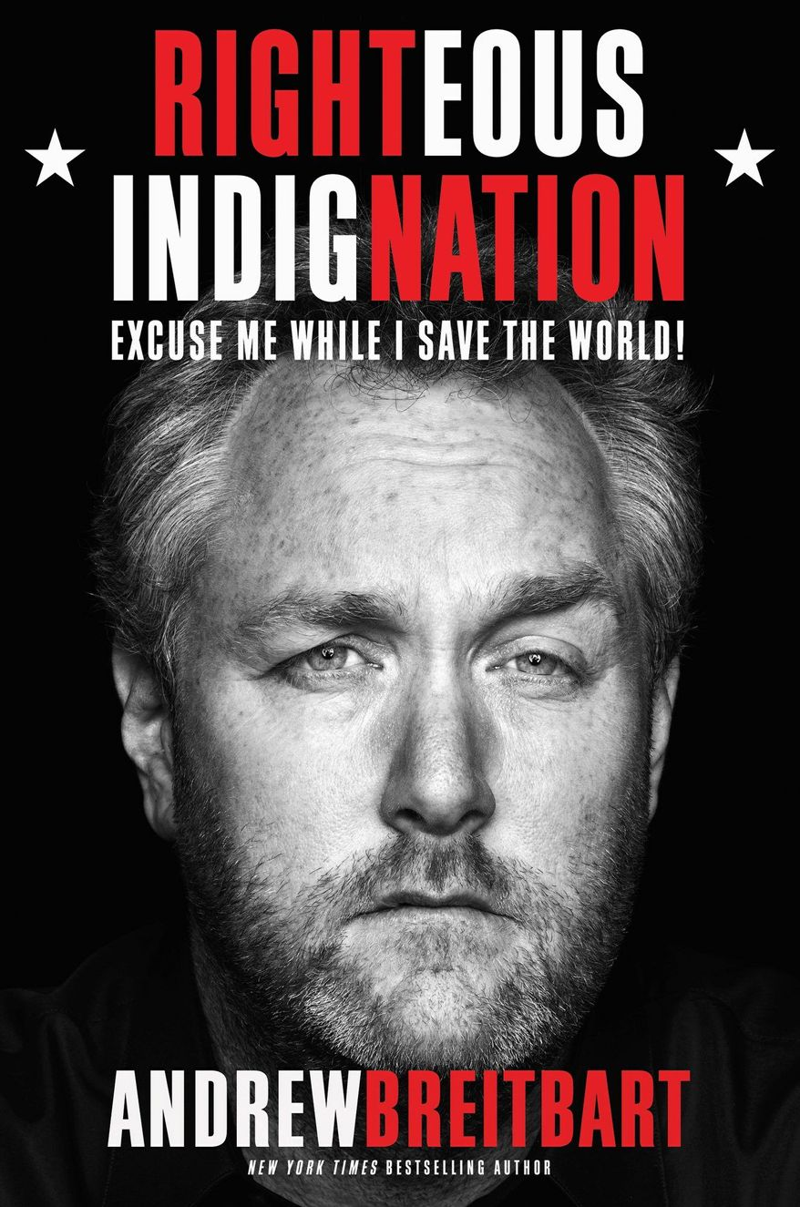 Andrew Breitbart's new book is already soaring to the top of best-seller lists. (Hachette Book Group)