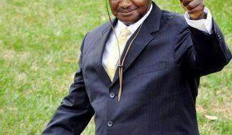 Yoweri Museveni (Associated Press)
