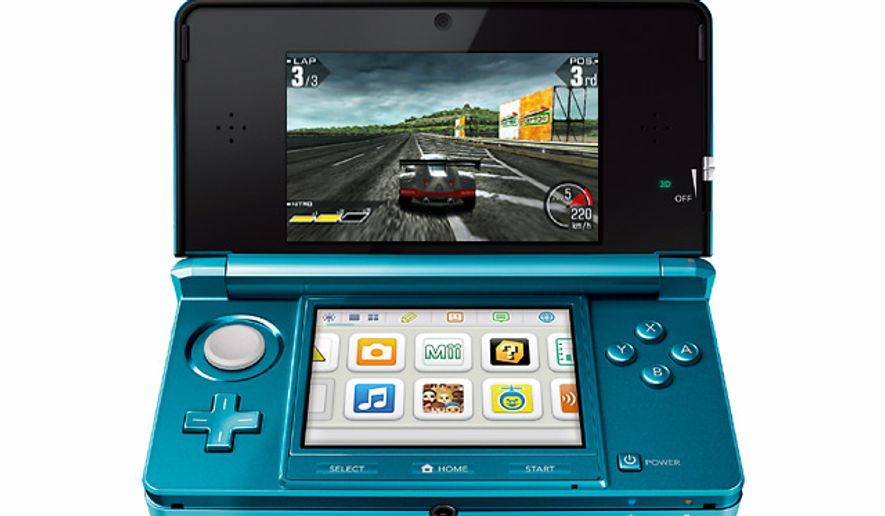 Nintendo's mighty 3DS portable gaming system