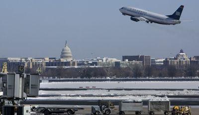 ** FILE ** Ronald Reagan Washington National Airport (AP Photo/Jacquelyn Martin, File)