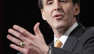 Former Minnesota Gov. Tim Pawlenty is among the prospective Republican presidential candidates forgoing wall-to-wall public appearances with campaign speeches in favor of private meetings and dialing phone lists to persuade donors to come aboard. (Associated Press)