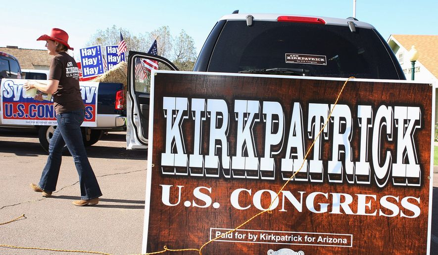 ASSOCIATED PRESS Ann Kirkpatrick campaigned successfully for Congress in 2008, but lost in the Republican tide last year. She plans to seek a rematch to take back the seat from Rep. Paul A. Gosar.