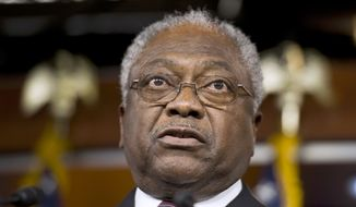 Rep. James E. Clyburn, South Carolina Democrat. (AP Photo/Cliff Owen) ** FILE **