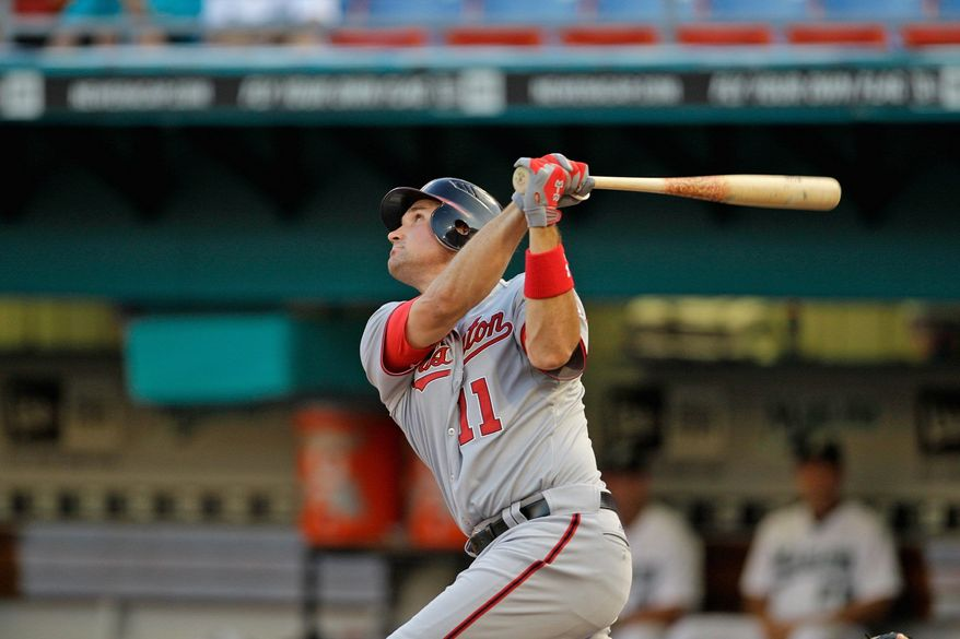 ASSOCIATED PRESS Nationals third baseman Ryan Zimmerman has been on the disabled list since April 12 with an abdominal strain. There is no timetable for his return.