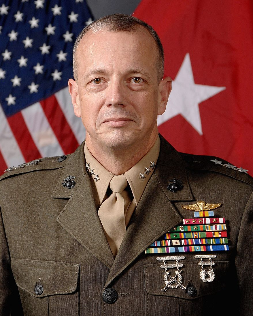 Lt. Gen. John R. Allen (AP Photo/Department of Defense)