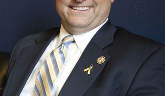 ** FILE ** Sen. Dean Heller, Nevada Republican (AP Photo/Harry Hamburg, File)