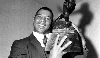 ** FILE ** RB Ernie Davis, Syracuse (1962, 1st) - One of just two No. 1 overall picks Redskins have had, he was traded to the Browns for WR Bobby Mitchell (among others) and died of leukemia in 1963.