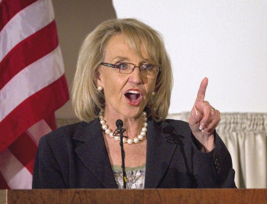 **FILE** Arizona Gov. Jan Brewer (Associated Press)