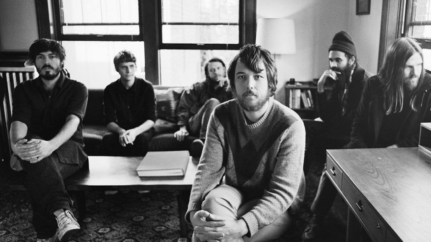 """PHOTOGRAPH PROVIDED BY FLEET FOXES For their second album, """"Helplessness Blues,"""" Seattle's Fleet Foxes build towering harmonies and play a wide variety of exotic instruments, including some that are obsolete and virtually unknown."""