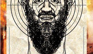 Illustration: Osama bin Laden by Alexander Hunter for The Washington Times