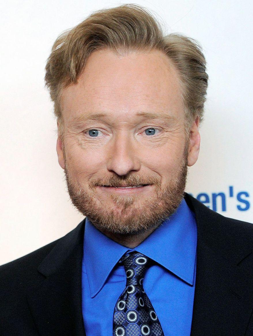 ASSOCIATED PRESS Conan O'Brien