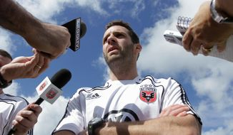 ** FILE ** D.C. United coach Ben Olsen (AP)