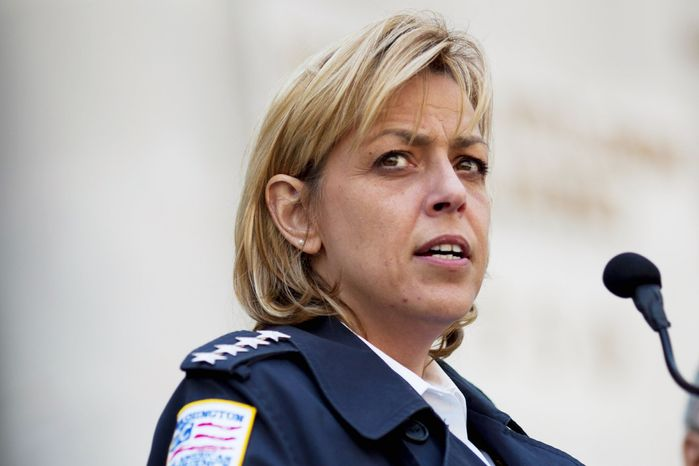 Metropolitan Police Chief Cathy L. Lanier (Drew Angerer/The Washington Times)