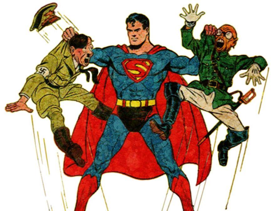 Illustration: Superman