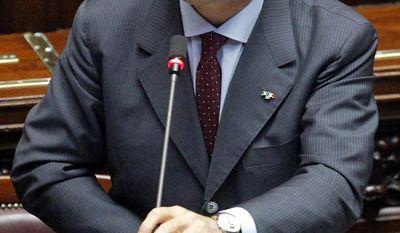 Italian Foreign Minister Franco Frattini (AP Photo/Mauro Scrobogna, Lapresse)