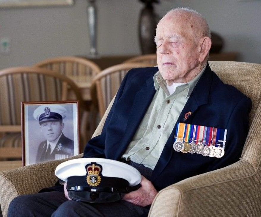 ASSOCIATED PRESS/ROYAL AUSTRALIAN NAVY Claude Stanley Choules, who died Thursday at 110, began training with the British Royal Navy after turning 14. He witnessed the surrender in 1918 of a German naval fleet.