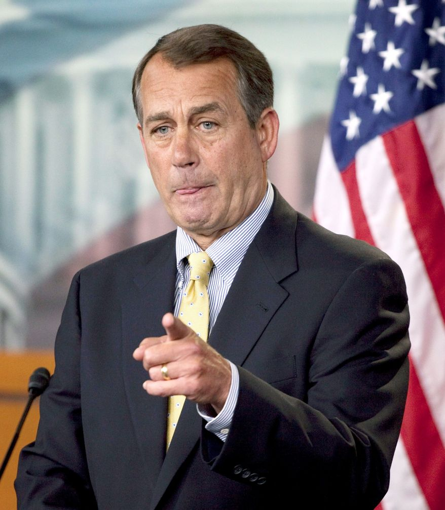 """Associated Press House Speaker John A. Boehner said Thursday, """"The sooner we begin to create more American energy, the sooner we'll be able to lower the prices."""""""