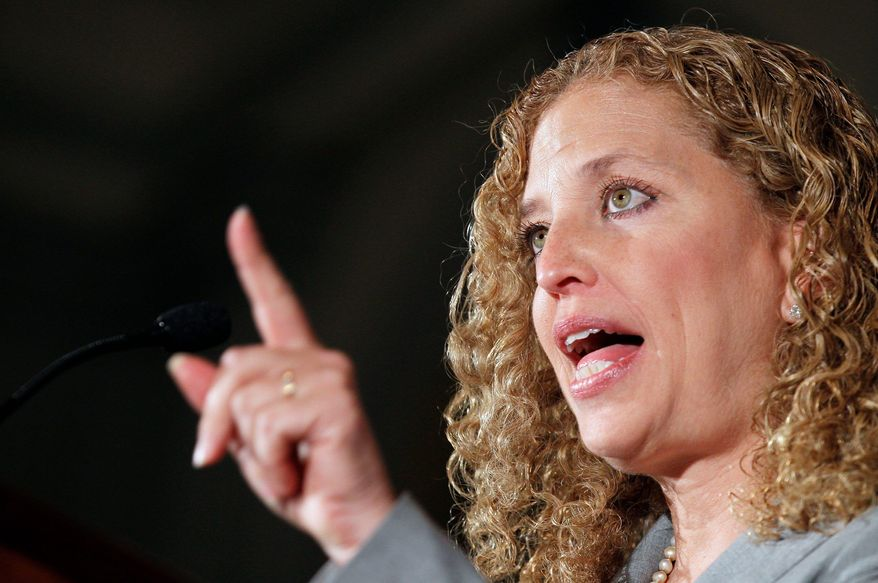 **FILE** Rep. Debbie Wasserman Schultz of Florida chairs the Democratic National Committee. (Associated Press)