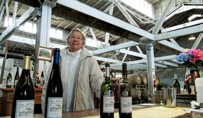 """ASSOCIATED PRESS JoAnn Stear recently accepted a $1.2 million offer for her Eaton Hill Winery in south-central Washington, well below her original price of $2.7 million. """"But """"healthwise, agewise, it was time to go,"""" she said."""