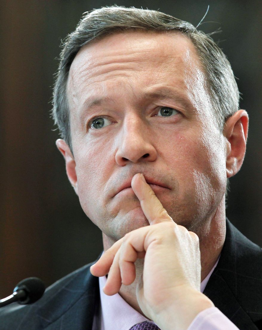 ASSOCIATED PRESS Maryland Gov. Martin O'Malley is expected to sign a bill Tuesday that would make in-state college tuition available to many illegal immigrants. A federal version of the bill failed last year in Congress.