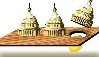 Illustration: Find the lemon by Alexander Hunter for The Washington Times